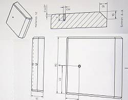 Eine technische Zeichnung