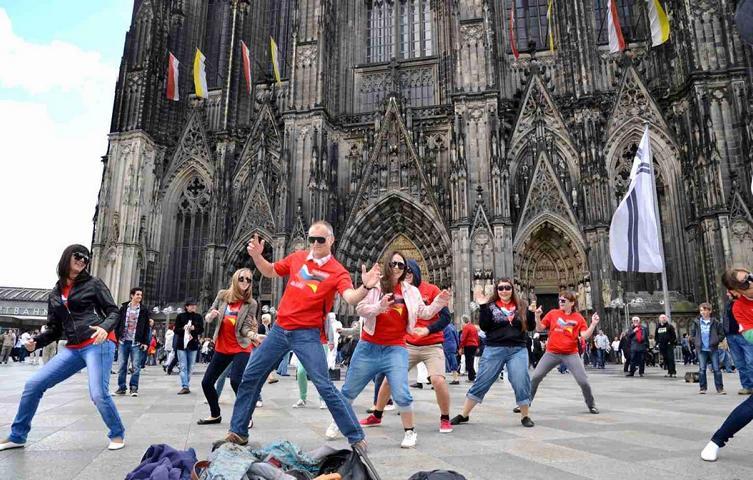 DSC flash mob Köln 1A