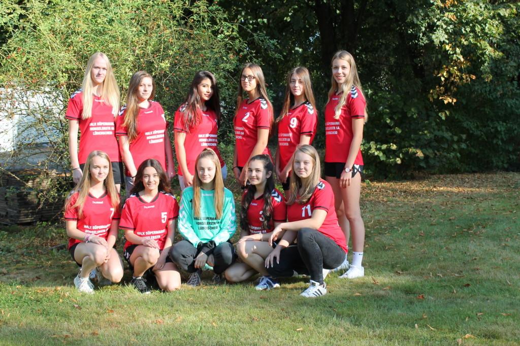 Handball_Mädchen-Team