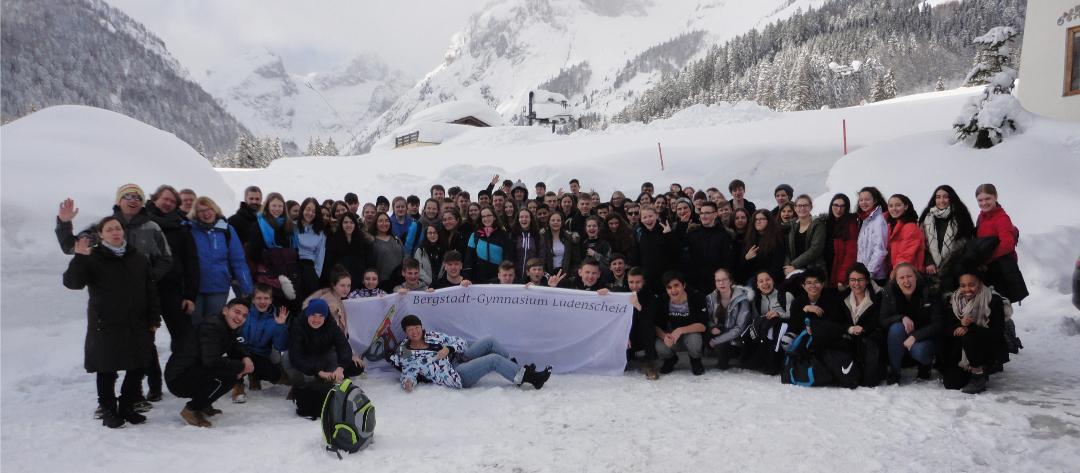 Skifahrt St. Martin 2019