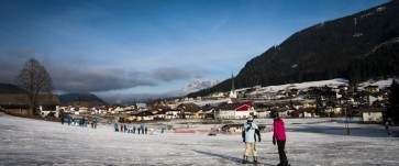 Skifahrt St. Martin 2014